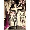 Marmont Hill Leinwandbild Flower Forest, Kunstdruck