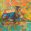 Marmont Hill South China Tiger' by Evelia Art Print Wrapped on Canvas