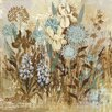 Marmont Hill Floral Frenzy IV' Art Print Wrapped on Canvas
