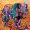 Marmont Hill The Last Rhino' Art Print Wrapped on Canvas