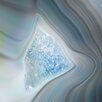 Marmont Hill Crystal Shards' Graphic Art Wrapped on Canvas