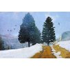 Marmont Hill Mountain Road' Photographic Print Wrapped on Canvas