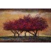 Marmont Hill Crabapple Blossoms' Art Print Wrapped on Canvas