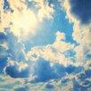 Marmont Hill Leinwandbild Clouds, Fotodruck