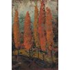 Marmont Hill Sienna Sunset 2' Art Print Wrapped on Canvas