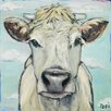 Marmont Hill When Cows Fly' by Tori Campisi Art Print Wrapped on Canvas