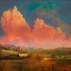Marmont Hill Pastoral Sunset' Art Print Wrapped on Canvas