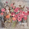 Marmont Hill Floral Frenzy II' Art Print Wrapped on Canvas