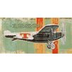 Marmont Hill Vintage Plane 1929' Graphic Art Wrapped on Canvas