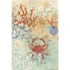 Marmont Hill Leinwandbild Floral Frenzy Coastal IV, Kunstdruck