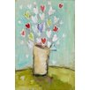Marmont Hill Simple Bouquet' Art Print Wrapped on Canvas