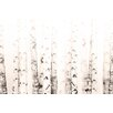 Marmont Hill Leinwandbild Birchwood, Grafikdruck