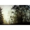 Marmont Hill Leinwandbild Foggy, Fotodruck