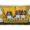 Marmont Hill The Girls' Art Print Wrapped on Canvas