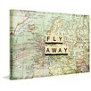 Marmont Hill Leinwandbild Fly Away, Bilddruck