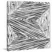 Marmont Hill Leinwandbild Linear Maelstrom, Grafikdruck