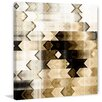 Marmont Hill 'Deaf Echo' Graphic Art Wrapped on Canvas