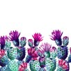 Marmont Hill 'Dancing Pineapples' Graphic Art Wrapped on Canvas