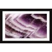 Marmont Hill Amethyst Cliffs Framed Graphic Art