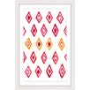 Marmont Hill Pattern Trapped Framed Graphic Art