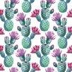 Marmont Hill Leinwandbild Falling Cactus, Kunstdruck