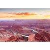 Marmont Hill Leinwandbild Amazing Canyon, Fotodruck