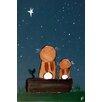 "Marmont Hill Leinwandbild ""Stargazing Bunnies"" von Andrea Doss, Kunstdruck"