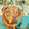 Marmont Hill 'Dogue De Bordeaux II' by Stephanie Gerace Graphic Art Wrapped on Canvas