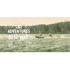 Marmont Hill Adventures Graphic Art Wrapped on Canvas