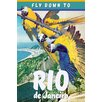 Marmont Hill Leinwandbild Travel Poster Rio, Retro-Werbung
