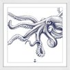 Marmont Hill Octopus Framed Graphic Art