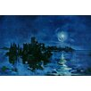 Marmont Hill Calm Night Art Print Wrapped on Canvas
