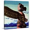 Marmont Hill Totem Pole Framed Painting Print