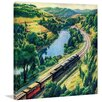 Marmont Hill Train Trip Framed Painting Print