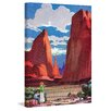 Marmont Hill Red Rocks Framed Painting Print