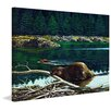 Marmont Hill Lowland Beaver Framed Painting Print