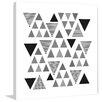Marmont Hill Gerahmter Kunstdruck Triangular Significance von Marmont Hill