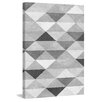 Marmont Hill Gerahmter Kunstdruck Chromatic Triangles von Marmont Hill