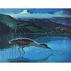 Marmont Hill Leinwandbild Night Heron, Kunstdruck