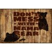 Marmont Hill Mama Bear 2 Graphic Art Wrapped on Canvas
