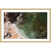 Marmont Hill Sandy Lagoon by Karolis Janulis Framed Photographic Print