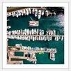 """Marmont Hill Gerahmtes Poster """"All Boats Docked"""" von Karolis Janulis, Fotodruck"""