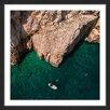 "Marmont Hill Gerahmtes Poster ""Jagged Cliffs"" von Karolis Janulis, Fotodruck"