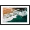 """Marmont Hill Gerahmtes Poster """"Waves Crashing"""" von Karolis Janulis, Fotodruck"""