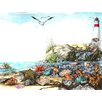 Marmont Hill Undersea Life Art Print Wrapped on Canvas