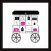 "Marmont Hill ""Cart"" by Loretta So Framed Graphic Art"