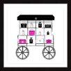 """Marmont Hill Gerahmtes Poster """"Cart"""" von Loretta So, Grafikdruck"""