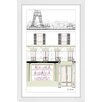 "Marmont Hill ""Laduree"" by Loretta So Framed Art Print"