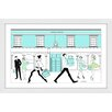 """Marmont Hill """"Tiff"""" by Loretta So Framed Graphic Art"""