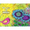 "Marmont Hill ""Bird Sunshine"" by Jill Lambert Art Print Wrapped on Canvas"